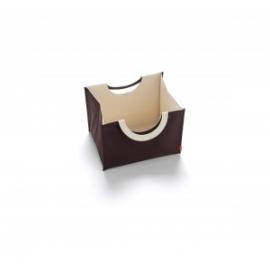 Pojemnik na akcesoria Bin-Go Small Chocolate Natural