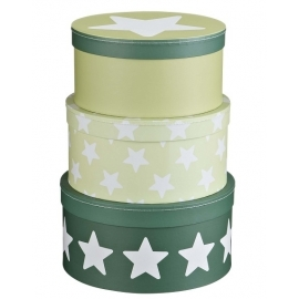 Pudełka Kartonowe Okrągłe zieleń