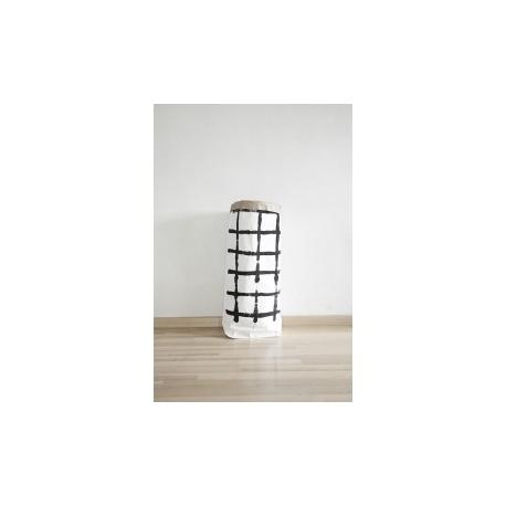 Worek papierowy 10Kratka duży 90cm