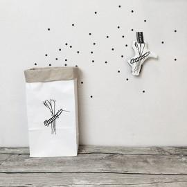 Worek papierowy Komar mały 43cm