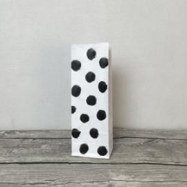 Worek papierowy Kropki najmniejszy 29cm