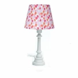 Lampa Baloniki z okrągłą szarą nogą