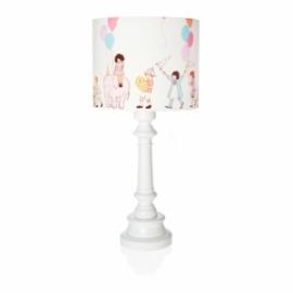 Lampa Dzieci na Paradzie z okrągłą białą nogą