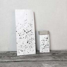 Worek papierowy Nakrapiany mały 43cm