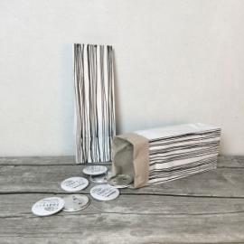 Worek papierowy Struny najmniejszy 29cm