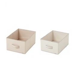 Zestaw 2 pudełek do regału kol. BB Tradition