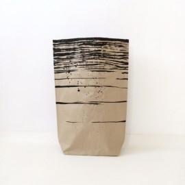Worek papierowy Szary Zmierzch średni 70cm