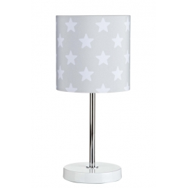 Lampka Stojąca Gwiazdki Szara