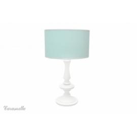 Lampka stojąca miętowa