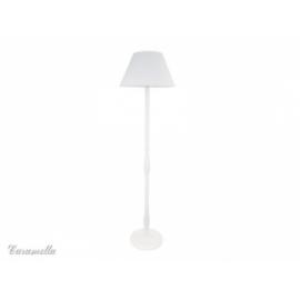 Lampa stojąca pokojowa błękitna w paseczki