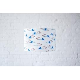 Lampa wisząca Granatowe Ptaszki