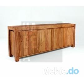 Efektowna designerska komoda z litego drewna Sideboard 4.2