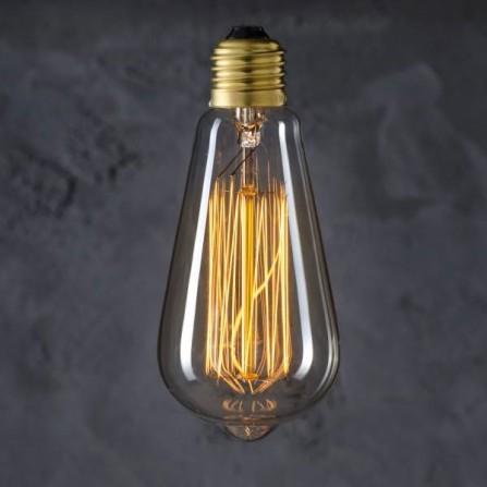 Żarówka Edisona podłużna 40W Gwint E27