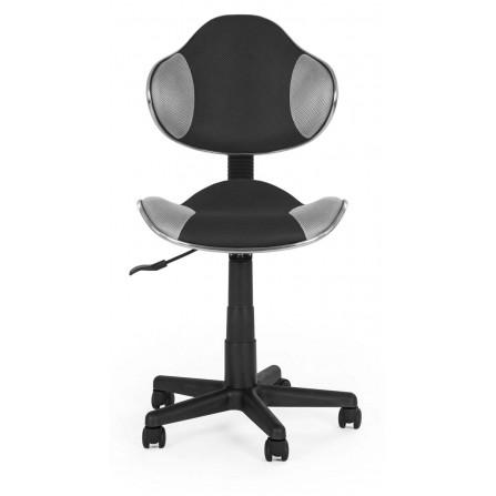 Krzesło obrotowe LEO bez oparcia szare