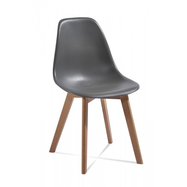 Krzesło EDI ciemno-szary
