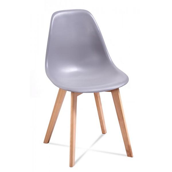 Krzesło EDI jasno-szary