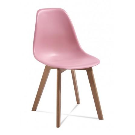 Krzesło EDI różowy