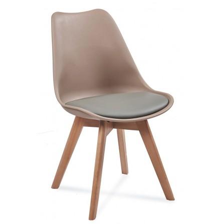 Krzesło FIORD 2 beż