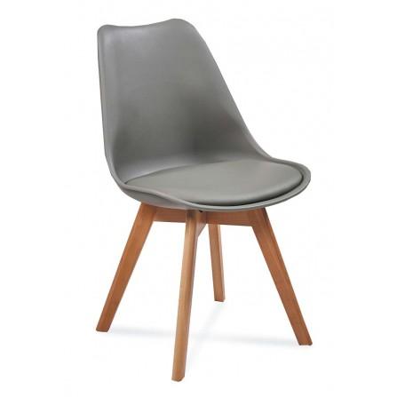 Krzesło FIORD ciemno-szary