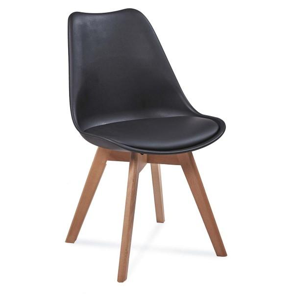 Krzesło FIORD czarny