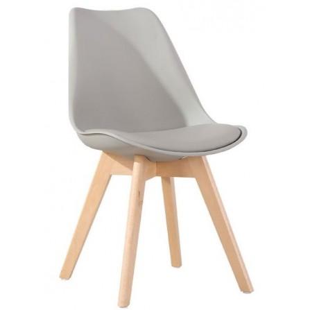 Krzesło FIORD jasno-szary