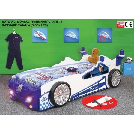 Łóżko dziecięce Policja