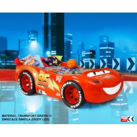 Łóżko dziecięce McQueen zygzak ABS bajka samochody auta