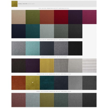 Fotel Hako kolory tapicerki
