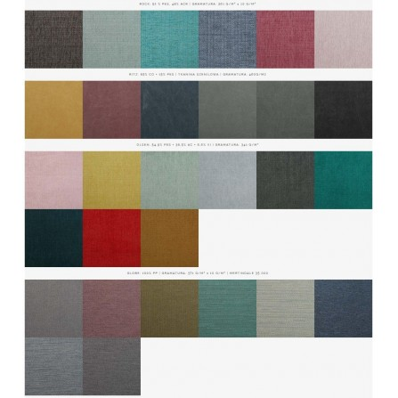 Fotel Marget kolory tapicerki