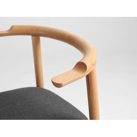 Krzesło KUBRIK prl styl loft zdjęcie oparcia