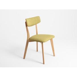 Krzesło Tone soft kolor zielona herbata, naturalny