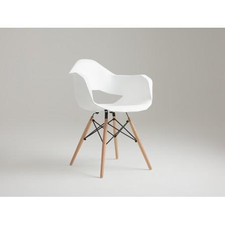 Krzesło MATCH ARMS WOOD