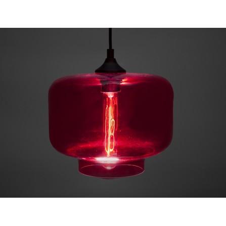 Lampa wisząca COLOR OF SUN - czerwona