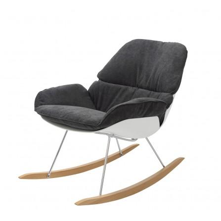 Fotel bujany NINO, płozy...