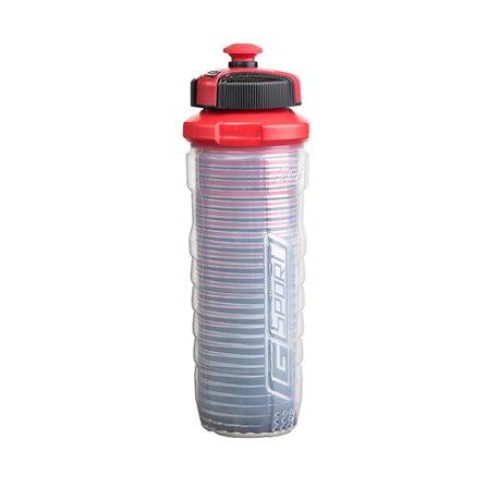 CG - Butelka ENDURANCE z podwójną ścianką,czerwona