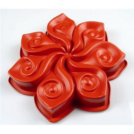PAV - CALLA Forma do ciasta, czerwona