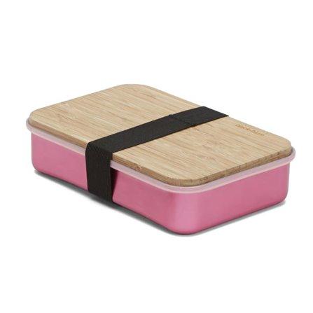 BB - Pojemnik na kanapki SANDWICH ON BOARD,różowy