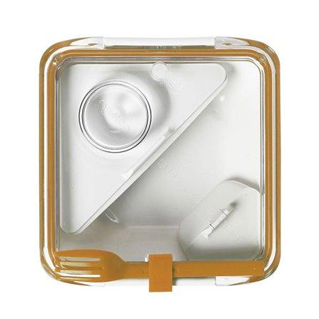 BB - Lunch box BOX APPETIT pomarańczowo/biały