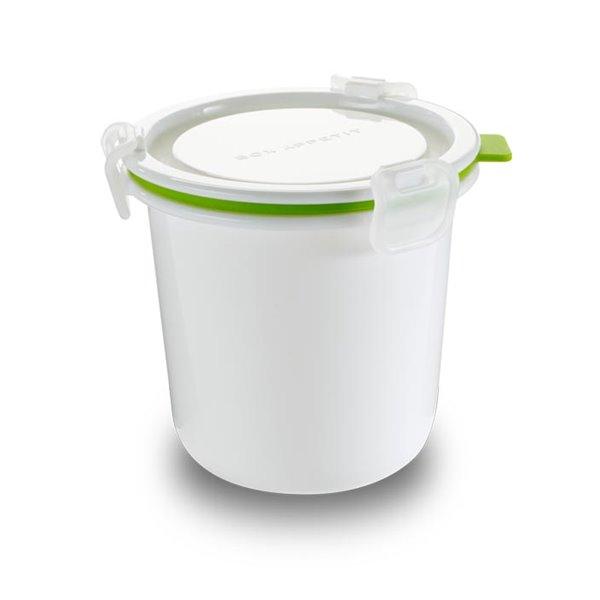 BB - Pojemnik Lunch Pot SINGLE, biało-zielony