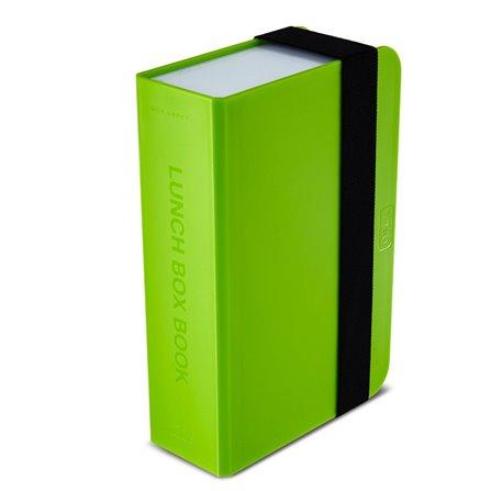 BB - Lunch box- książka, zielony