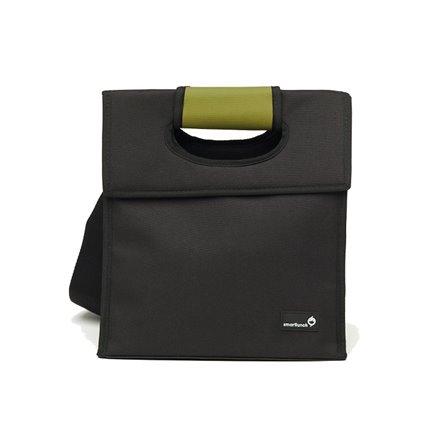 SL - Lunch bag, czarno-zielony, Smart Cover