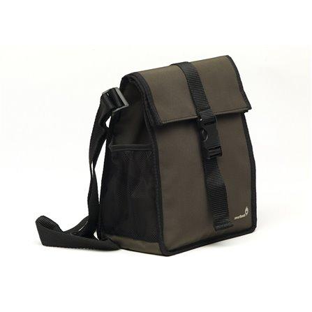 SL - Lunch bag, brązowy, SmartSquare
