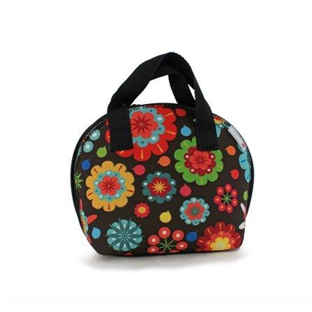 SL - Lunch bag Flower Power, Smartsoft Rubber