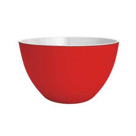 Zak! - Miska 14cm, czerwono-biała