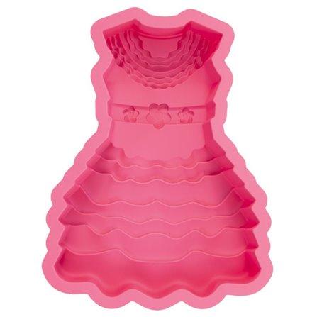 PAV - Forma do ciasta SUKIENKA różowa