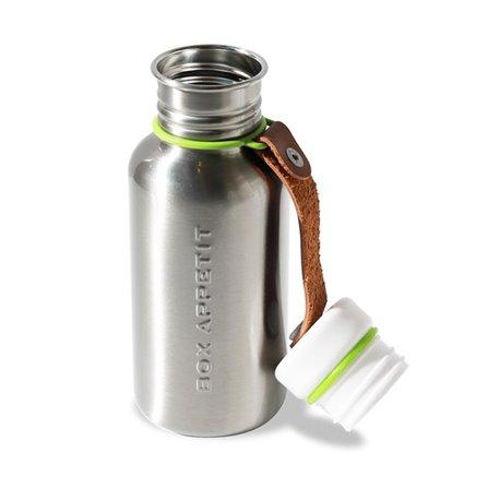 BB - Butelka na wodę stalowa, srebrna