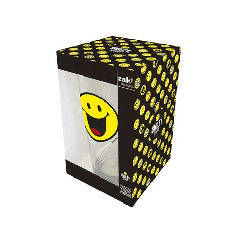 Zak! - Szklanka 300 ml, Happy, Smiley