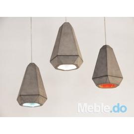Lampa Portland z betonu