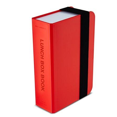 BB - Lunch box- książka, czerwony