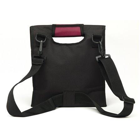 SL - Lunch bag, czarno-różowy, Smart Cover